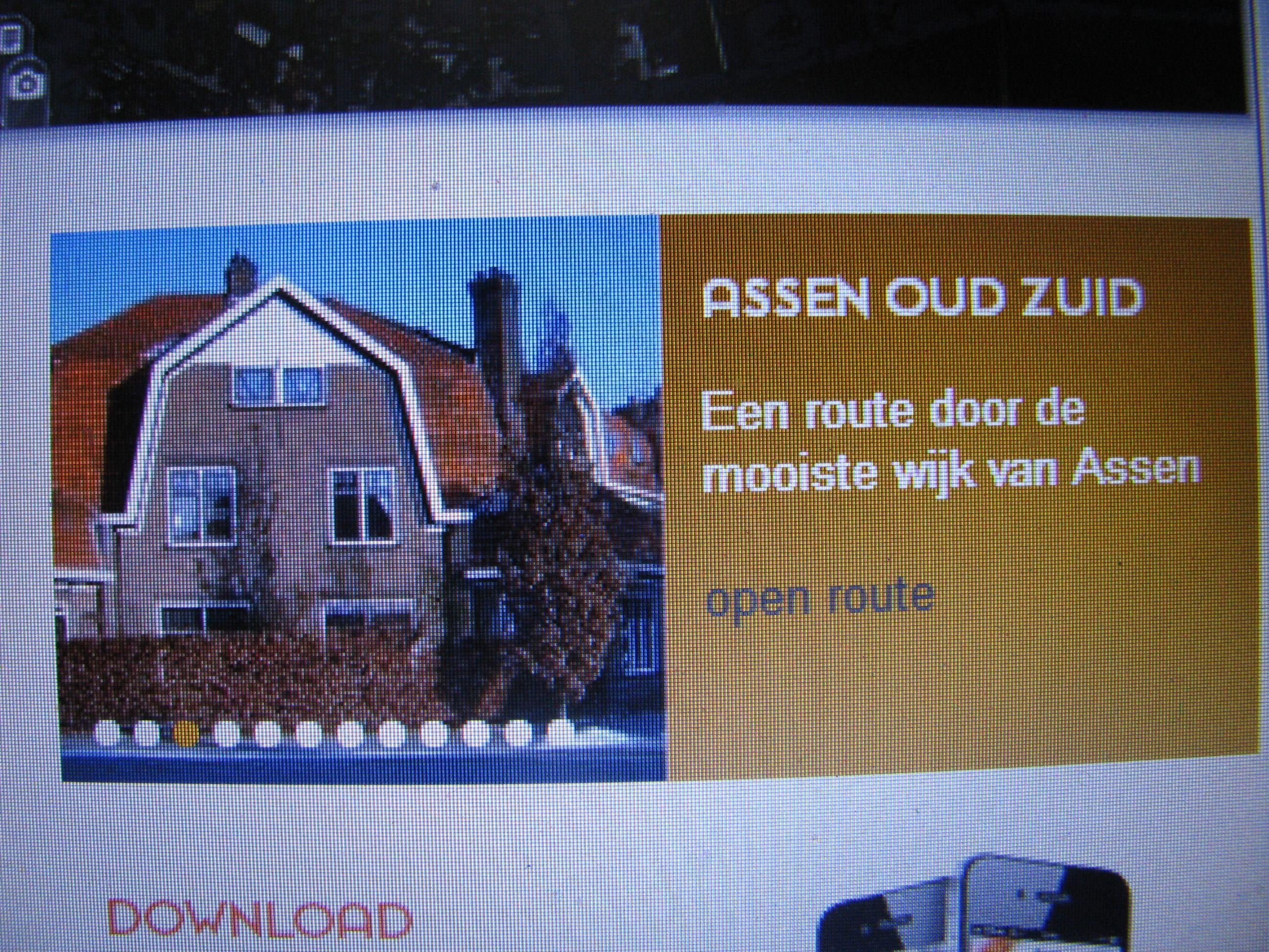 Wandelen in Assen oud zuid. kijk op Annodrenthe.nu