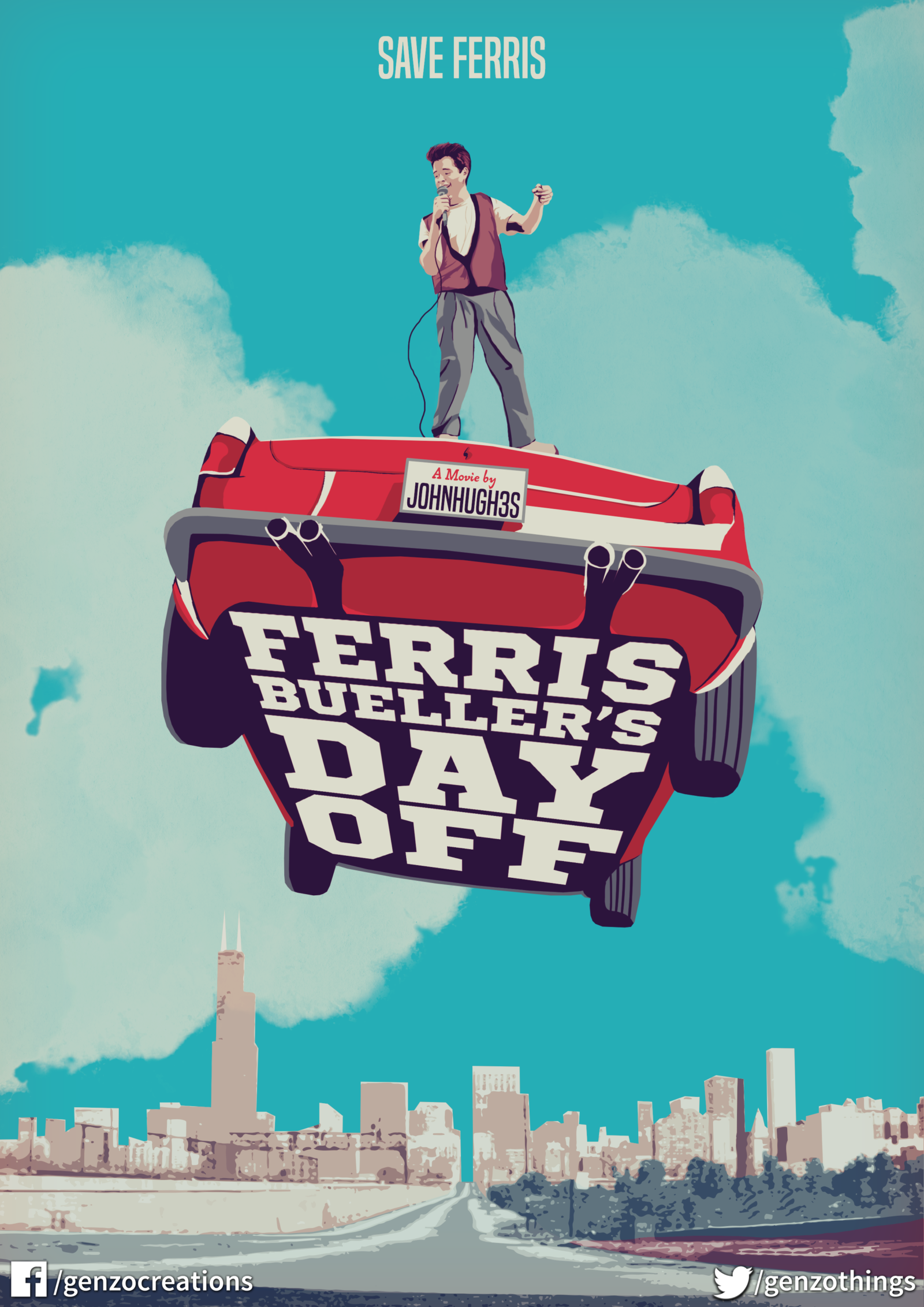 4fb389377 Ferris Bueller s Day Off – PosterSpy