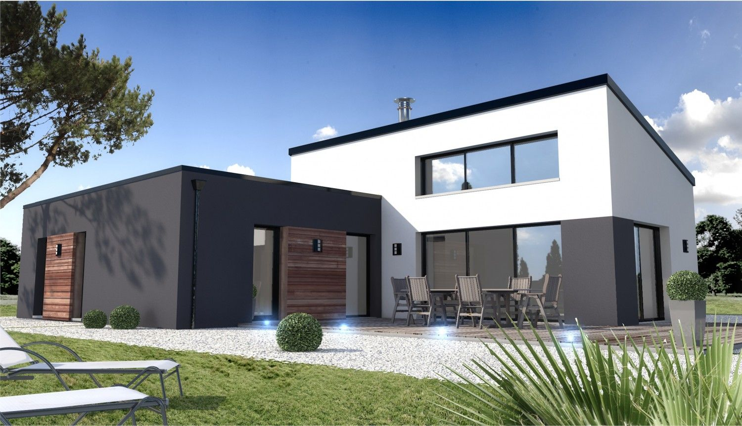 Top constructeur maison contemporaine Beauvoir sur Mer vendée 85  XL26