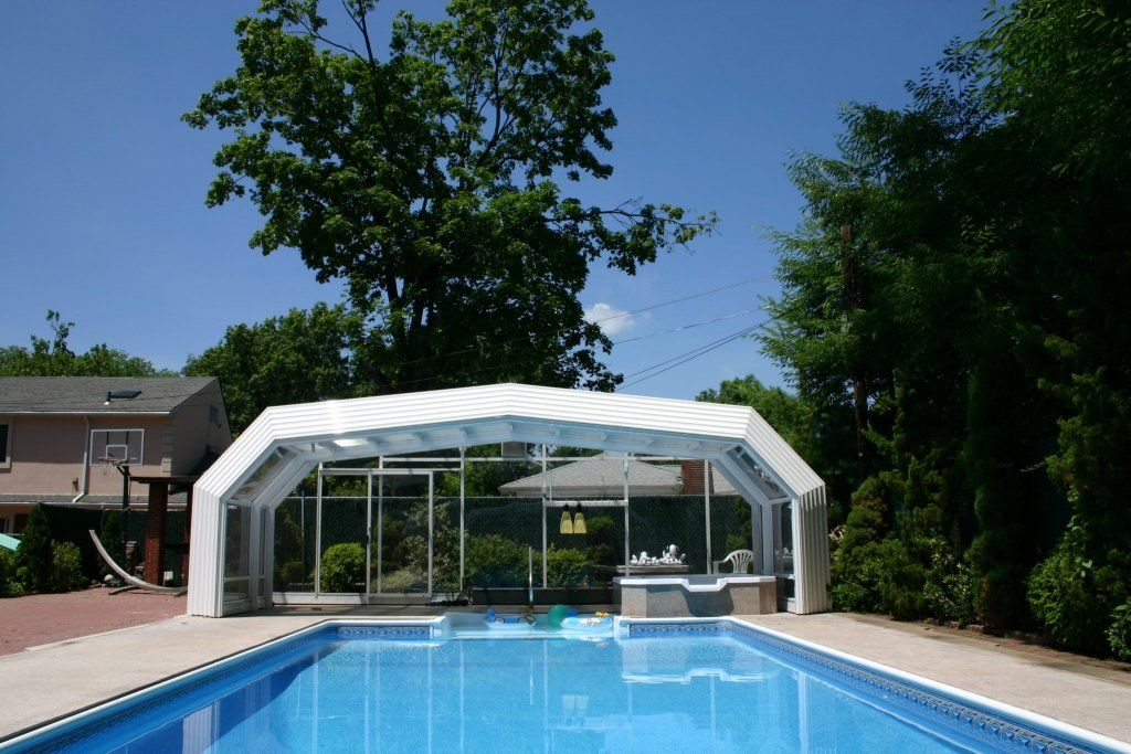 Victoria Belongs To High Profile Series This Is Currently The Largest Mobile Structural System Suppo Swimming Pool Enclosures Pool Enclosures Roofing Systems