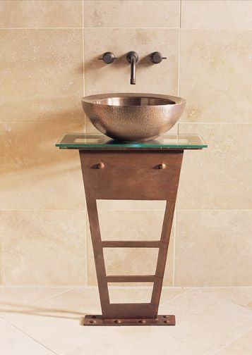 I-Beam Pedestal by Stone Forest