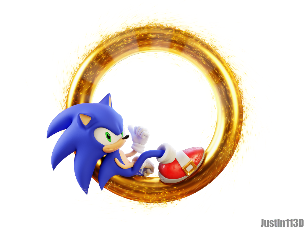 Sonic Movie Render Ring Portal Tr By Justin113d Sonic
