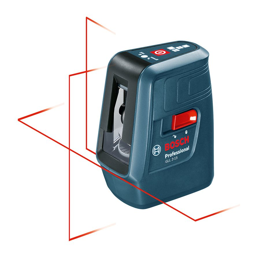 Bosch 50 Ft Laser Chalkline Self Leveling Line Generator Laser Level Laser Levels Plumbing Tools Red Beam