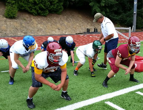 Trench Camp Turns 5 Linemen Get To Camp Football Camp Lineman