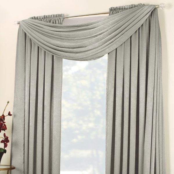 Luminous Window Curtain Panels Bed Bath Beyond Curtains