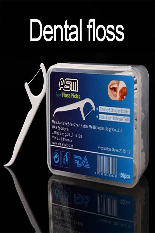 Dental floss products Highgrade plastic floss sticks