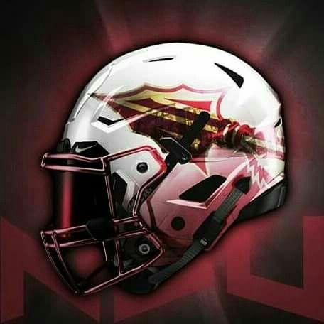 Florida State Seminoles College Football Helmets Football Helmet Design Football Helmets