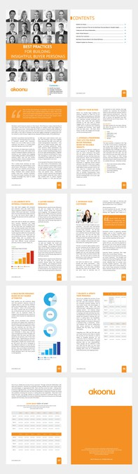 Sleek, reader-friendly whitepaper template for a new marketing - white paper template