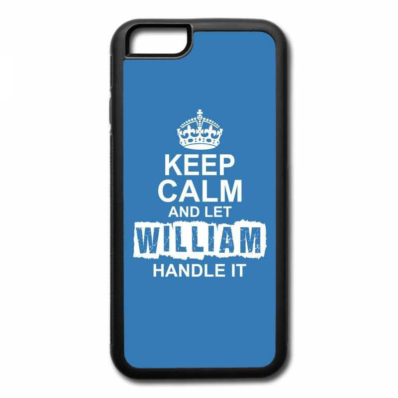 keep calm and let william handle it 1 iPhone 7 Plus Case