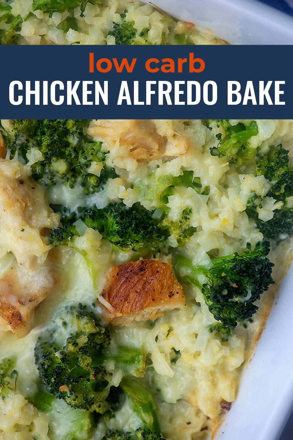 Low Carb Chicken Broccoli Alfredo Bake This casserole is packed with veggies and Alfredo sauceso easy too