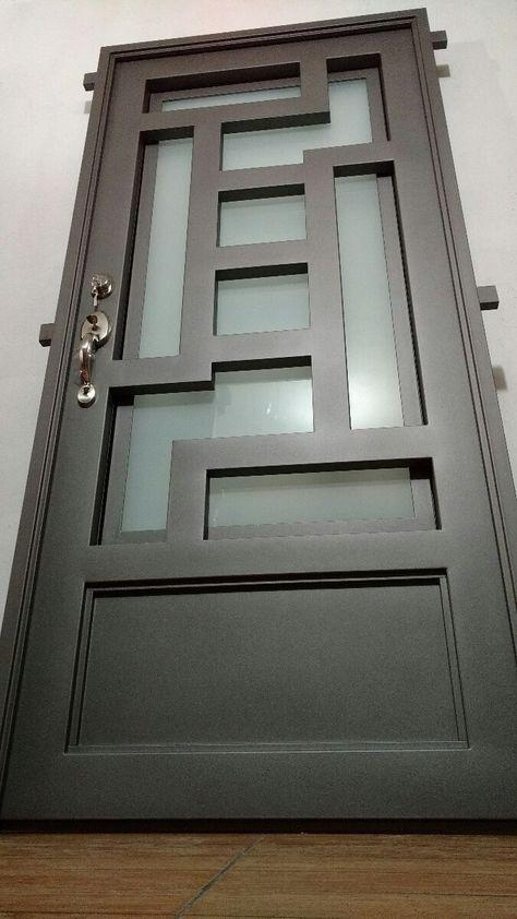 Del Gordo Puertas De Entrada Puertas De Metal Diseno De Puertas Modernas