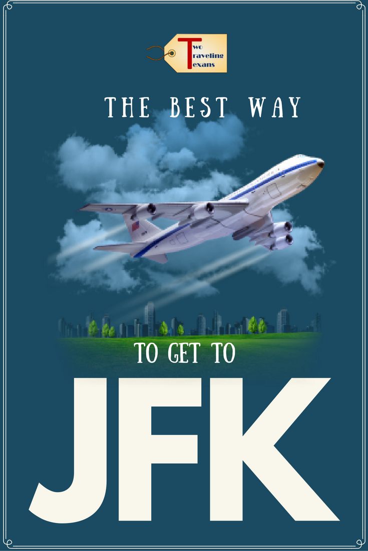 Learn the pros and cons of the different ways to get to JFK airport from NYC.  #traveltips #newyorkcity #jfkairport #howtogettojfk   JFK Airport Hacks   JFK Airport New York   JFK Airport Tips   JFK to Manhattan   JFK to NYC   JFK Airport Bus   AirTrain JFK   Subway to JFK   JFK Airport Car Service   John F Kennedy Airport in New York   Bus to JFK Airport  
