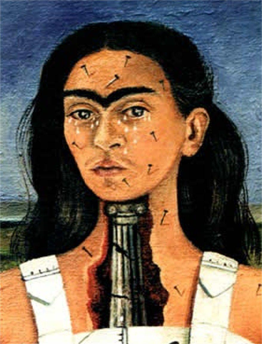 FRIDA KAHLO, Les deux Frida, 1939 et La colonne br