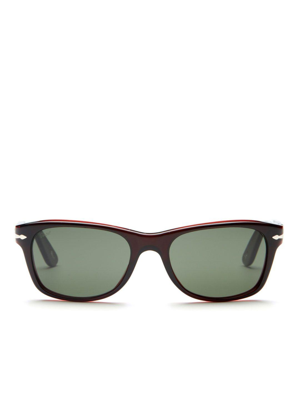 89d4a43da3c7 PERSOL Acetate Wayfarer Sunglasses | Dapper Style | Mens fashion:__ ...