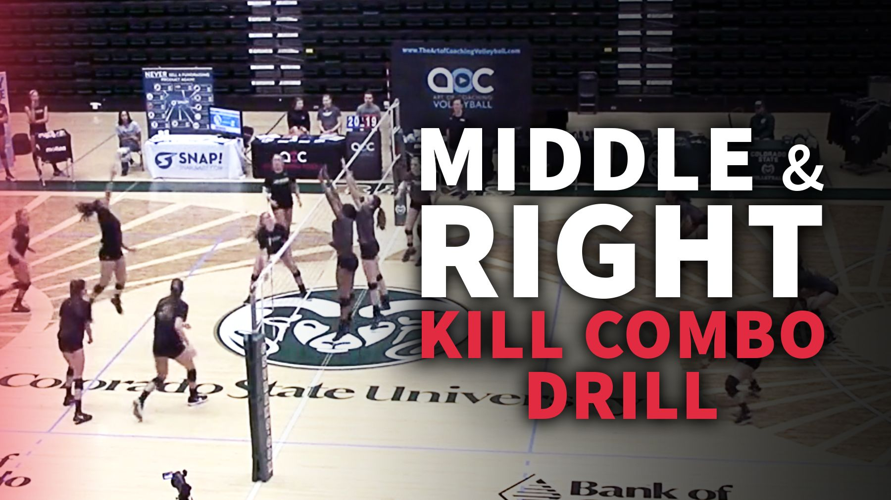 Drill For Training Middle And Right Kill Combinations Volleyball Training Coaching Volleyball Volleyball