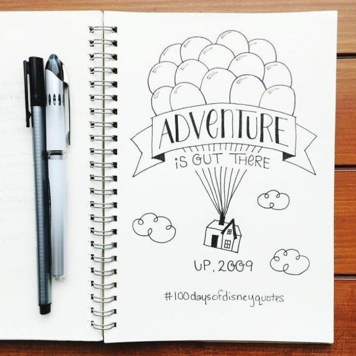 Add a little sparkle of magic to your bullet journal with these 44 beautiful Disney Inspired Bullet