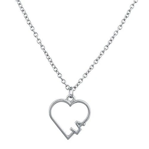 70 Best Open Heart Necklaces For Any Style And Taste Innovatodesign Open Heart Necklace Hearts Charm Necklace Stainless Steel Chain Necklace