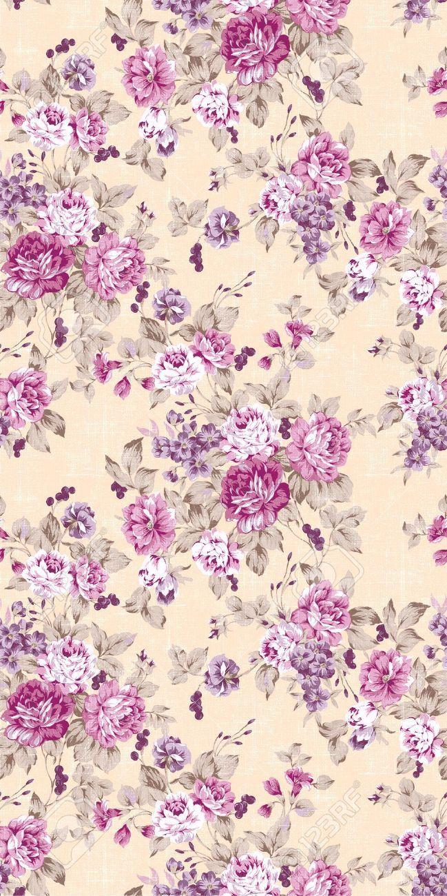 Vintage kitchen wallpaper patterns - 8899826 Seamless Rose Background Stock Photo Vintage Floral