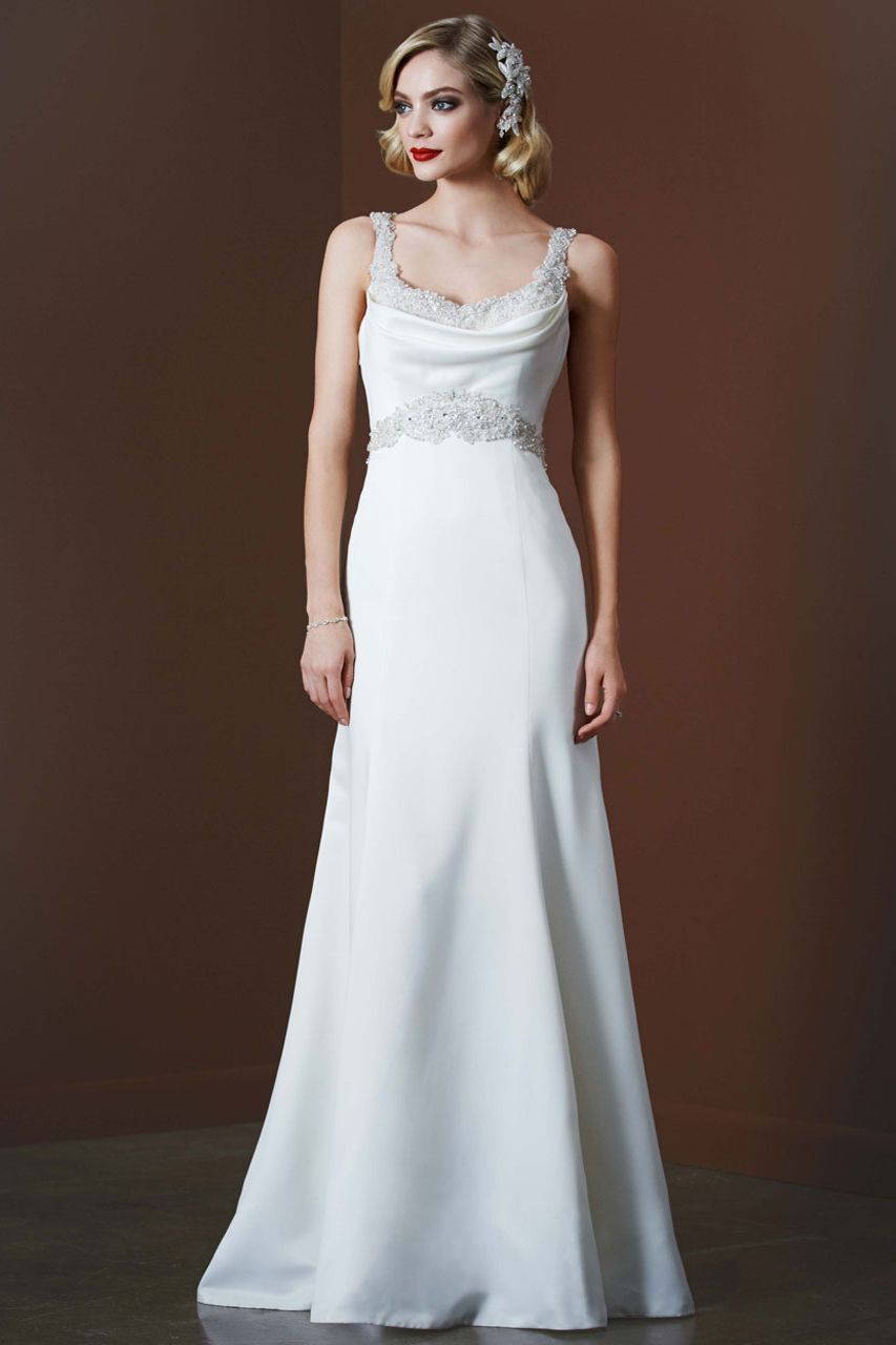 Galina Signature gown, available exclusively at David\'s Bridal ...
