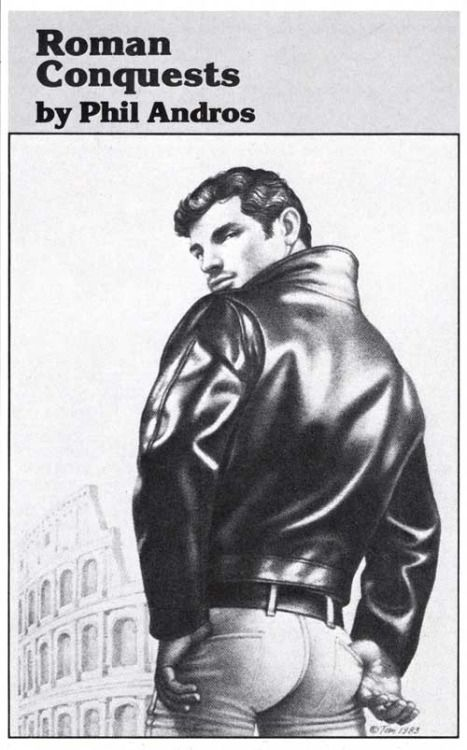 Roman Conquest cover by Tom Of Finland AKA Touko Laaksonen of a novel by Phil Andros AKA