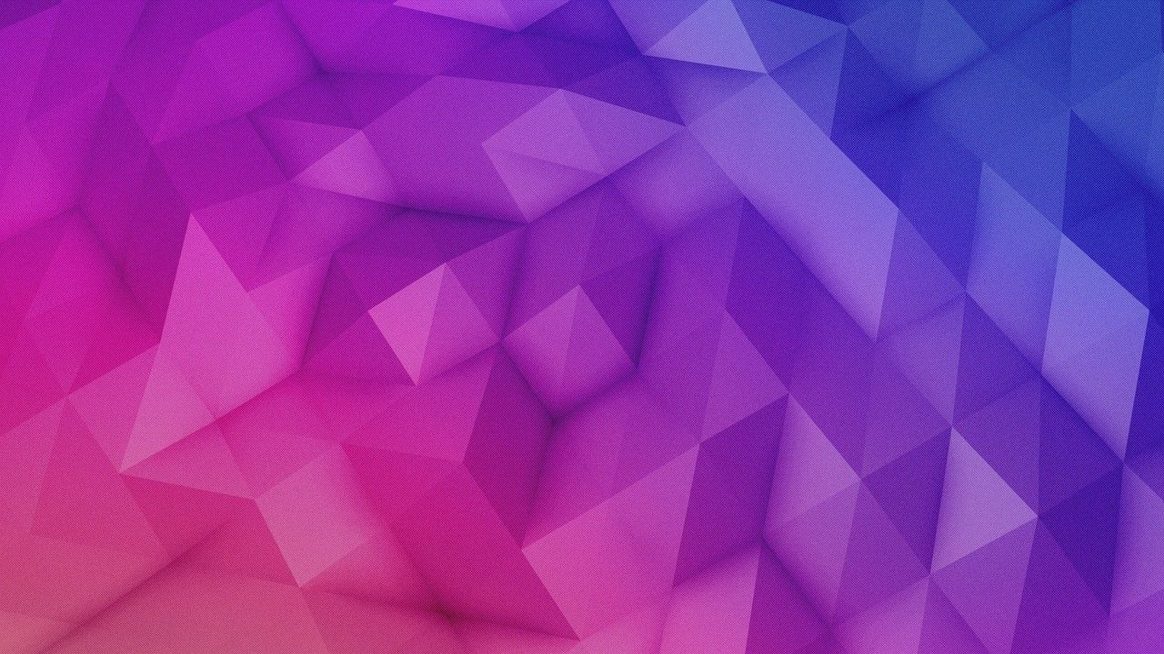Polygon Pink Purple Blue Wallpapers Pinterest Pink