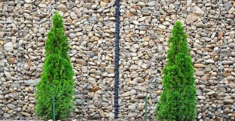 muros modernos llenos piedras exterior Pinterest Piedra