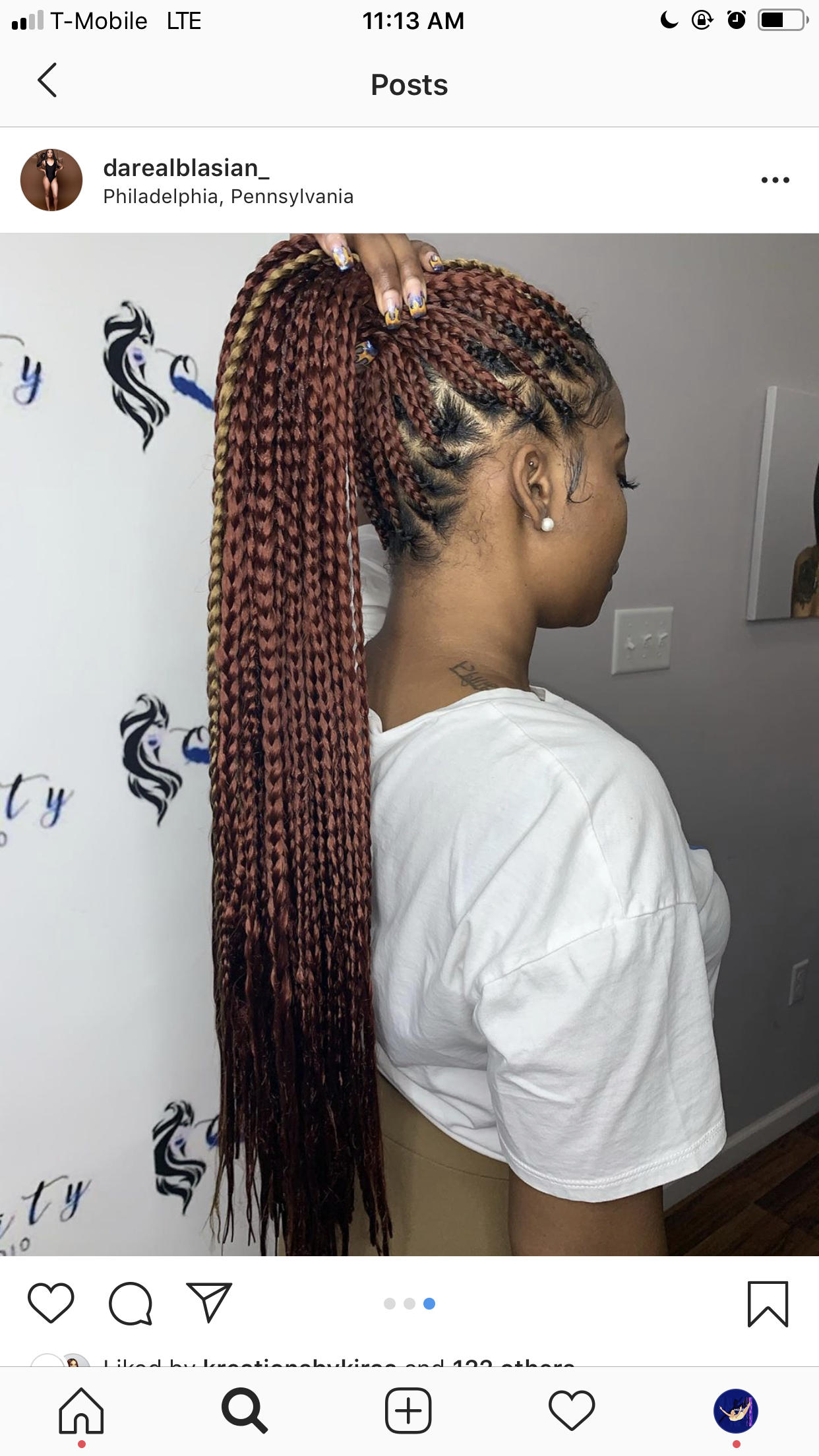 Small Braids Hairstyles 2018