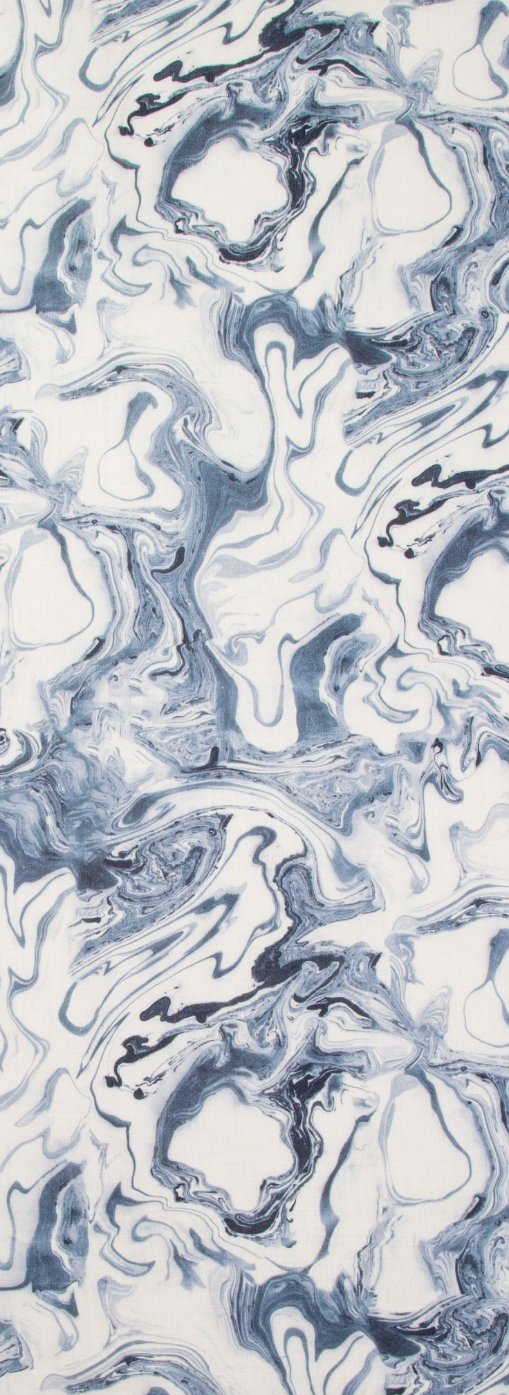 Marble Fabric in Sea Blue