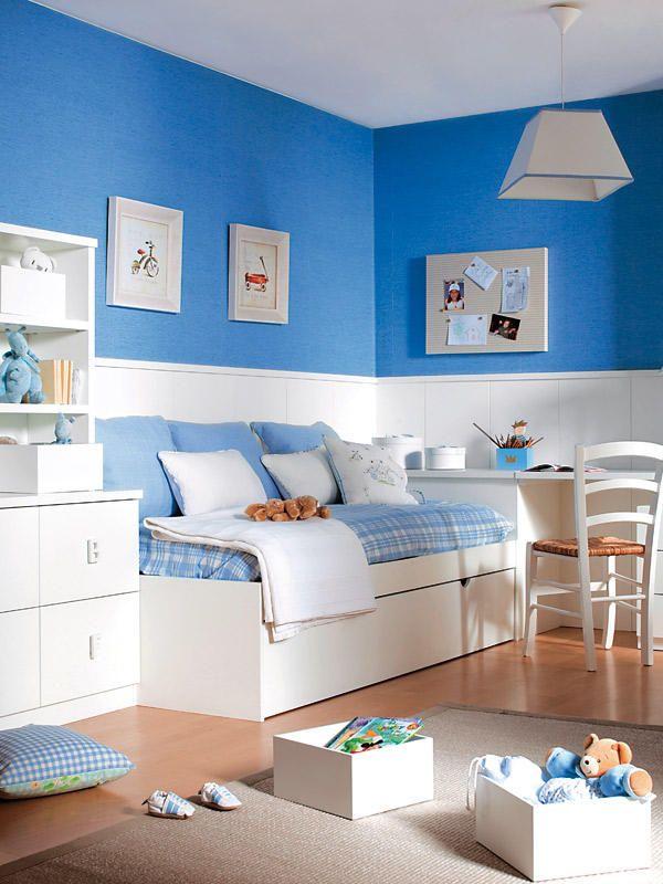 Ideas para renovar la casa z calos blancos mesas de for Ver habitaciones juveniles