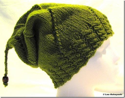 Neue Gratisanleitung: Mütze Slouchy #bonnets