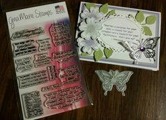 SMALL BUTTERFLY DIE - GINA MARIE DESIGNS