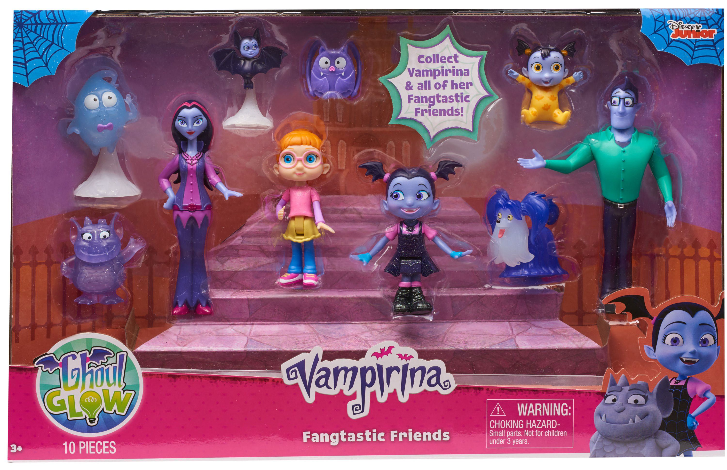 Disney Junior Vampirina Ghoul Glow Fangtastic Friends Set