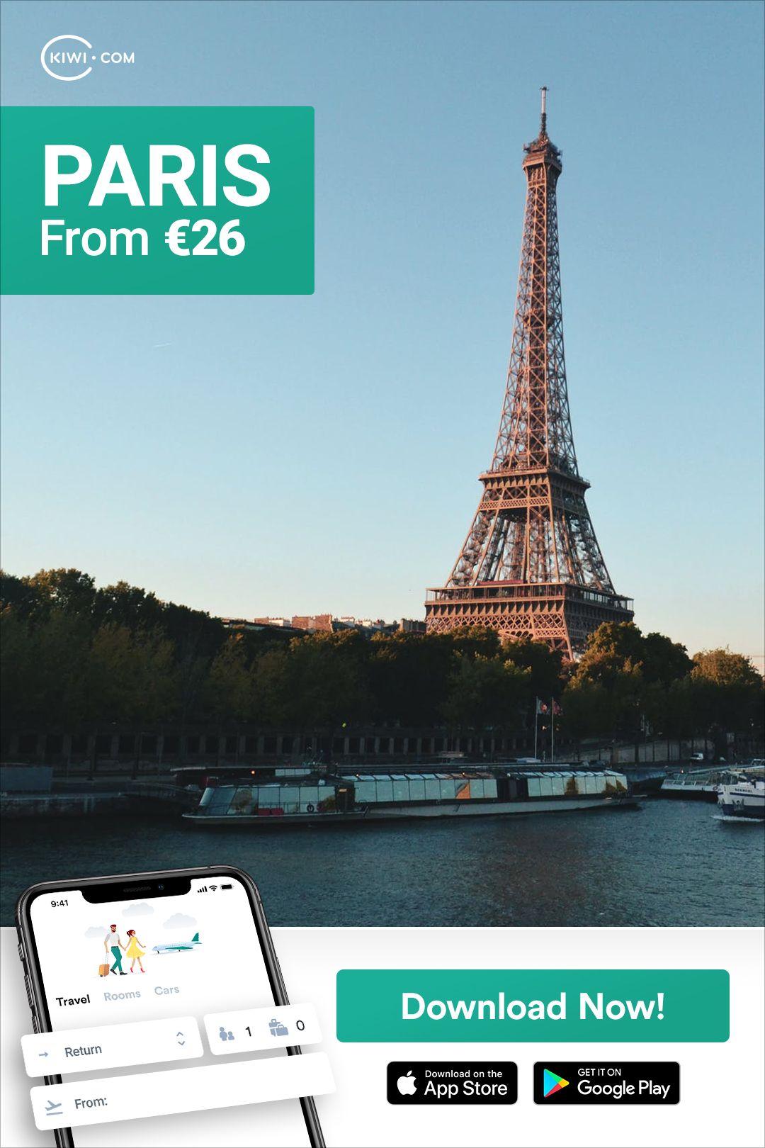 Paris from 26  Cheap travel deals Travel Travel deals