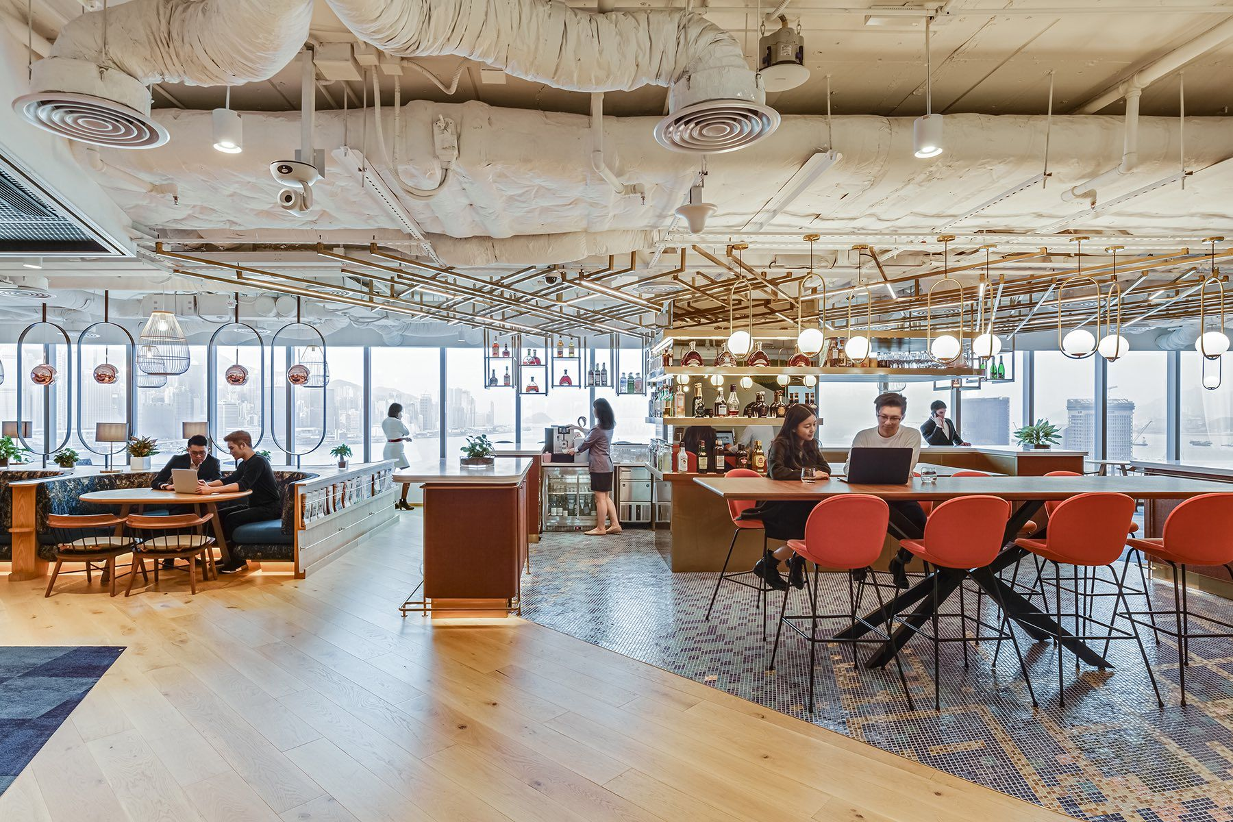 A Look Inside Pernod Ricard's New Hong Kong Office in 2020
