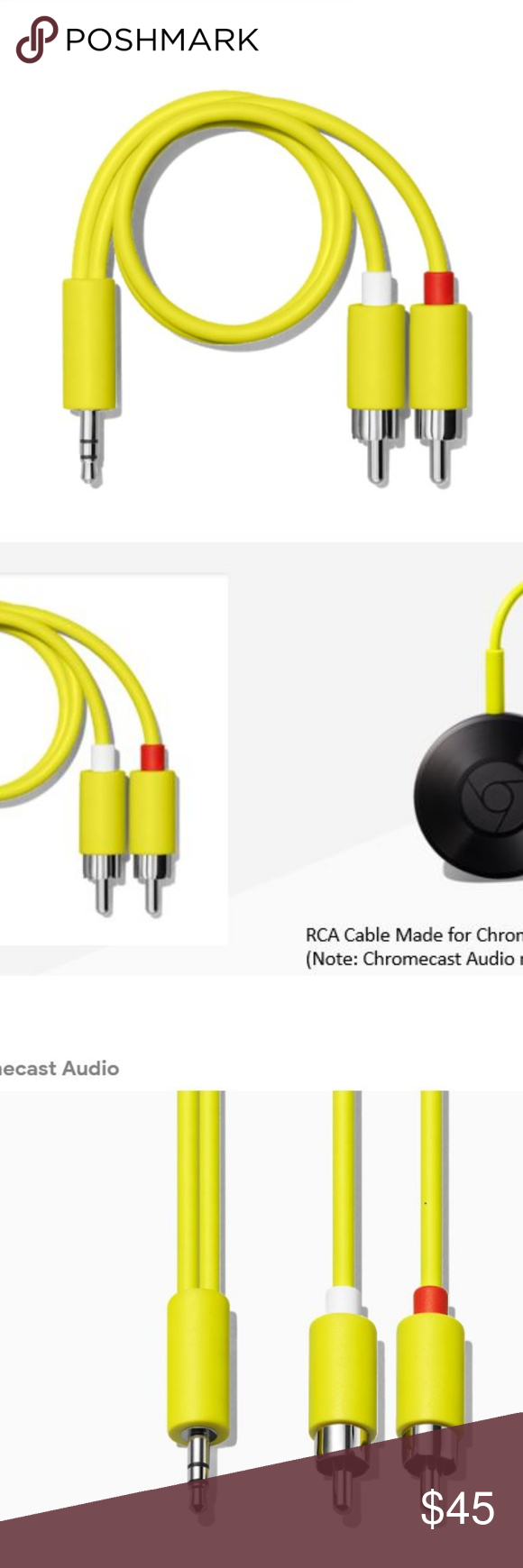 small resolution of google optical cable chromecast audio google chromecast audio optical cable this item is brand new