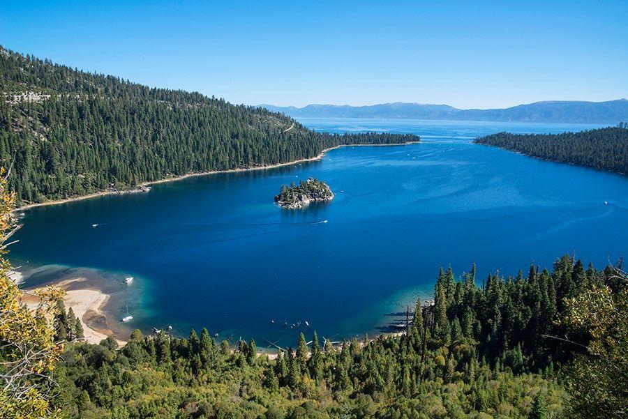 Ca Emerald Bay State Park Lake Tahoe El Dorado County