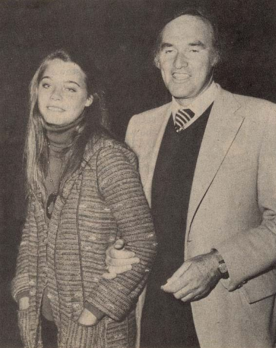 Actress Susan Dey with her first husband Lenny Hirshan