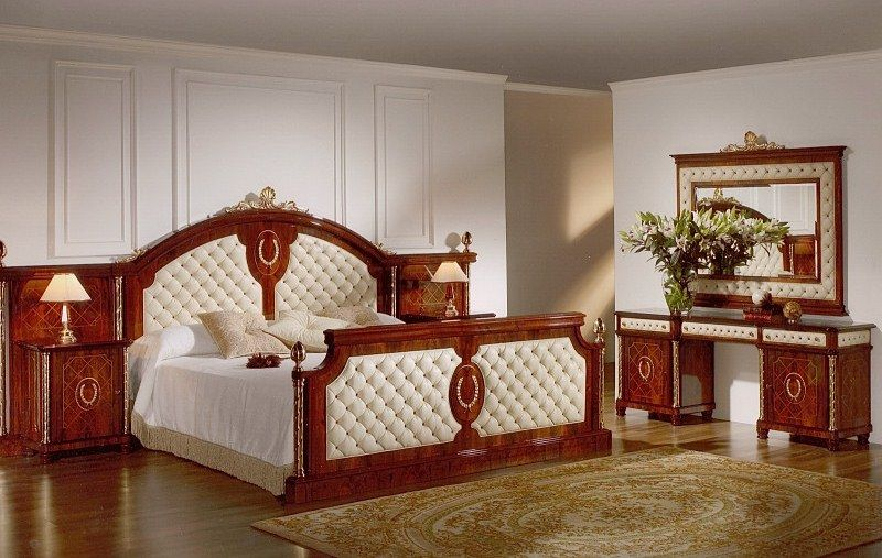 Wonderful Empire Bedroom Furniture | Capitone Bed Room Set In Spanish Style