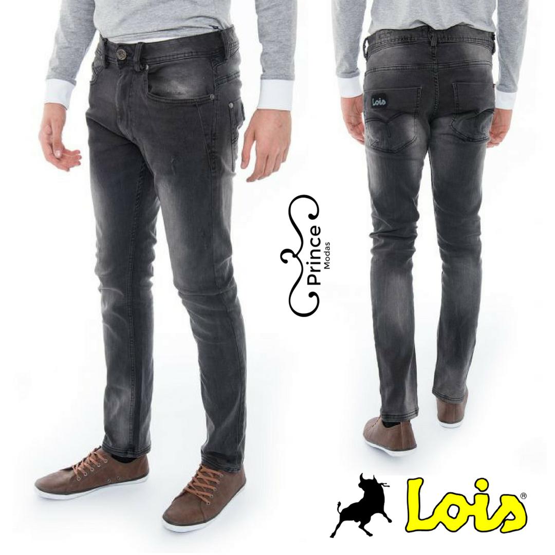 305473f3d Calças de ganga Preta da Lois jeans Loja Prince Modas