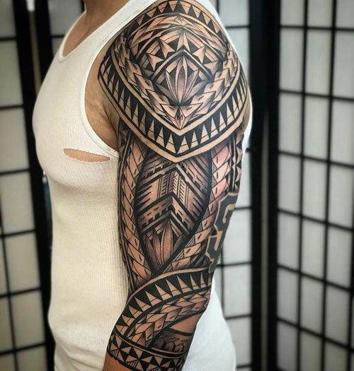 Cool Full Arm Sleeve Tattoo Ideas For Guys - Best Sleeve Tattoos For Men: Cool Full Sleeve Tattoo Ideas and Designs #tattoos #tattoosforguys #tattoosformen #tattooideas #tattoodesigns #sleeve #fullsleeve #armtattoo #tattooideas #smalltattoos #tattooideas #smalltattoos