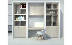 D visual kastenwand op maat woonkamer door studio nest Идеи для