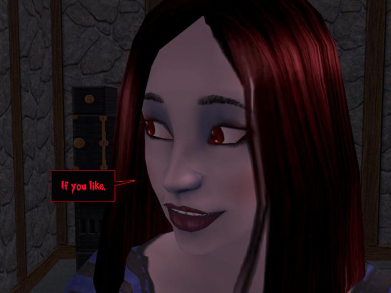 CARMILLA: If you like.  #gothic #sims #webcomic #nightlife #goths #vampires #courtleymanor