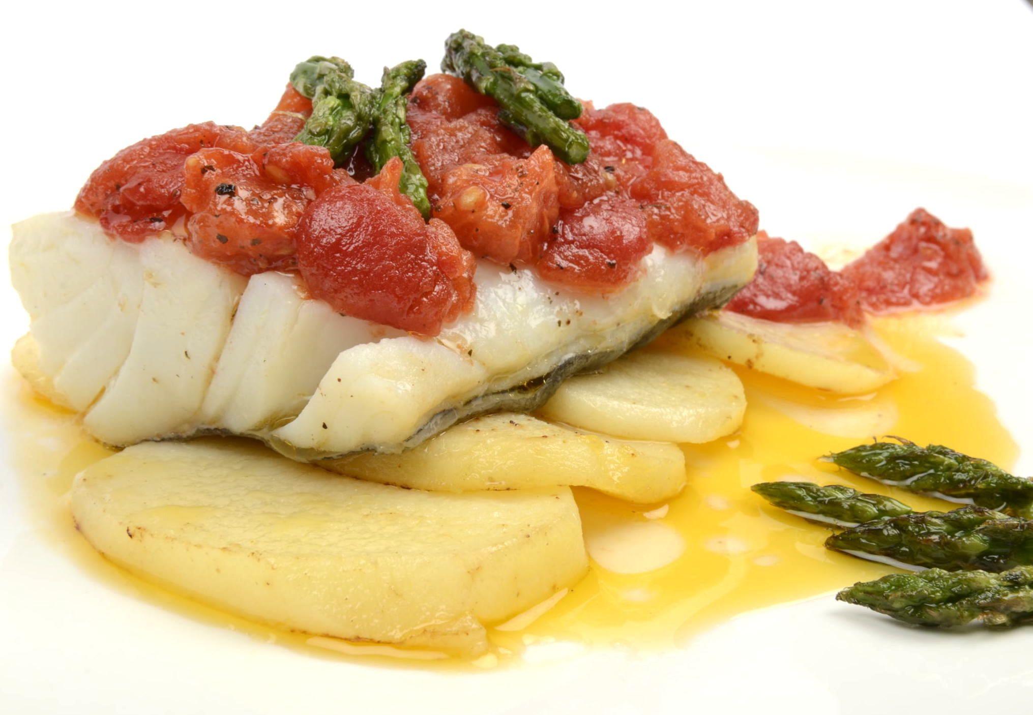 Cocinar Bacalao   Receta De Bacalao Confitado Con Tomate Suave Cocinar Pescado