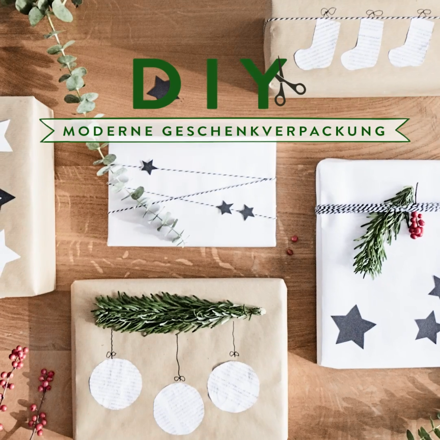 Photo of Weihnachtsgeschenke modern verpacken! Mit der festlichen Jahreszeit wird es Zeit…