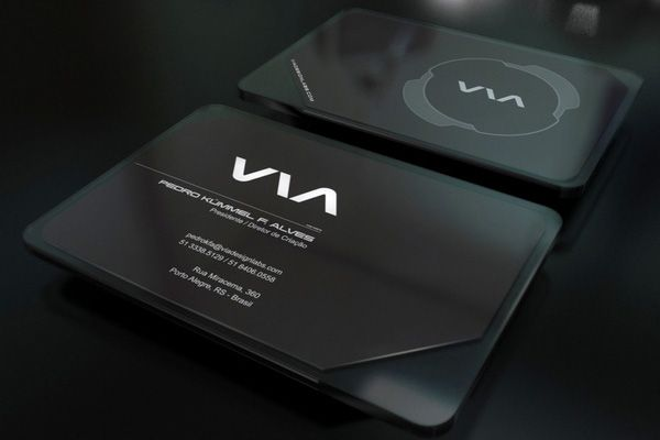 Incredibly elegant black via business card template for inspiration incredibly elegant black via business card template for inspiration plastic card with external acrylic shell wajeb Images