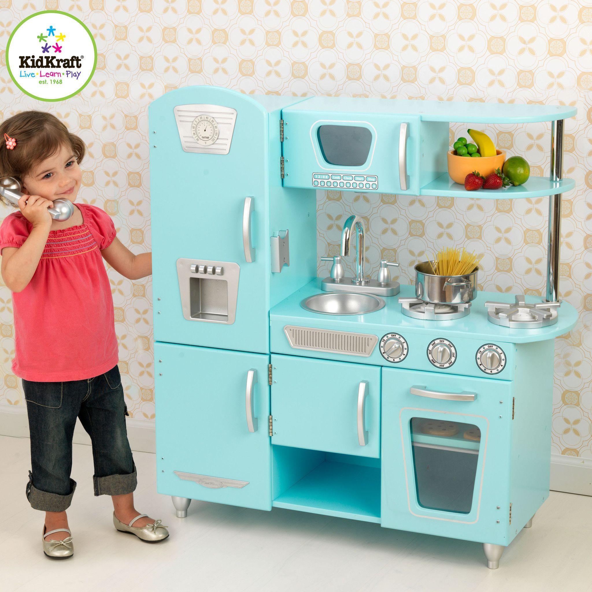 Blue Vintage Kitchen | Products | Pinterest | Vintage kitchen and ...