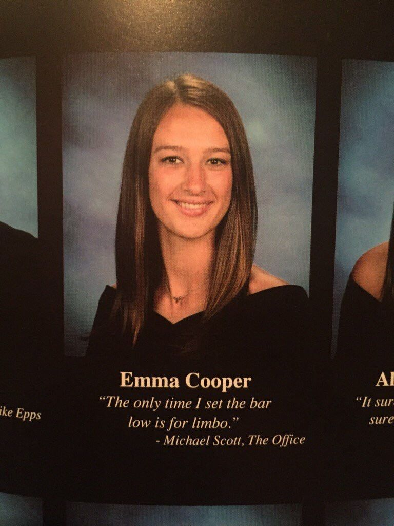Pin by Cinderellann on Funny yearbook | Yearbook quotes ...