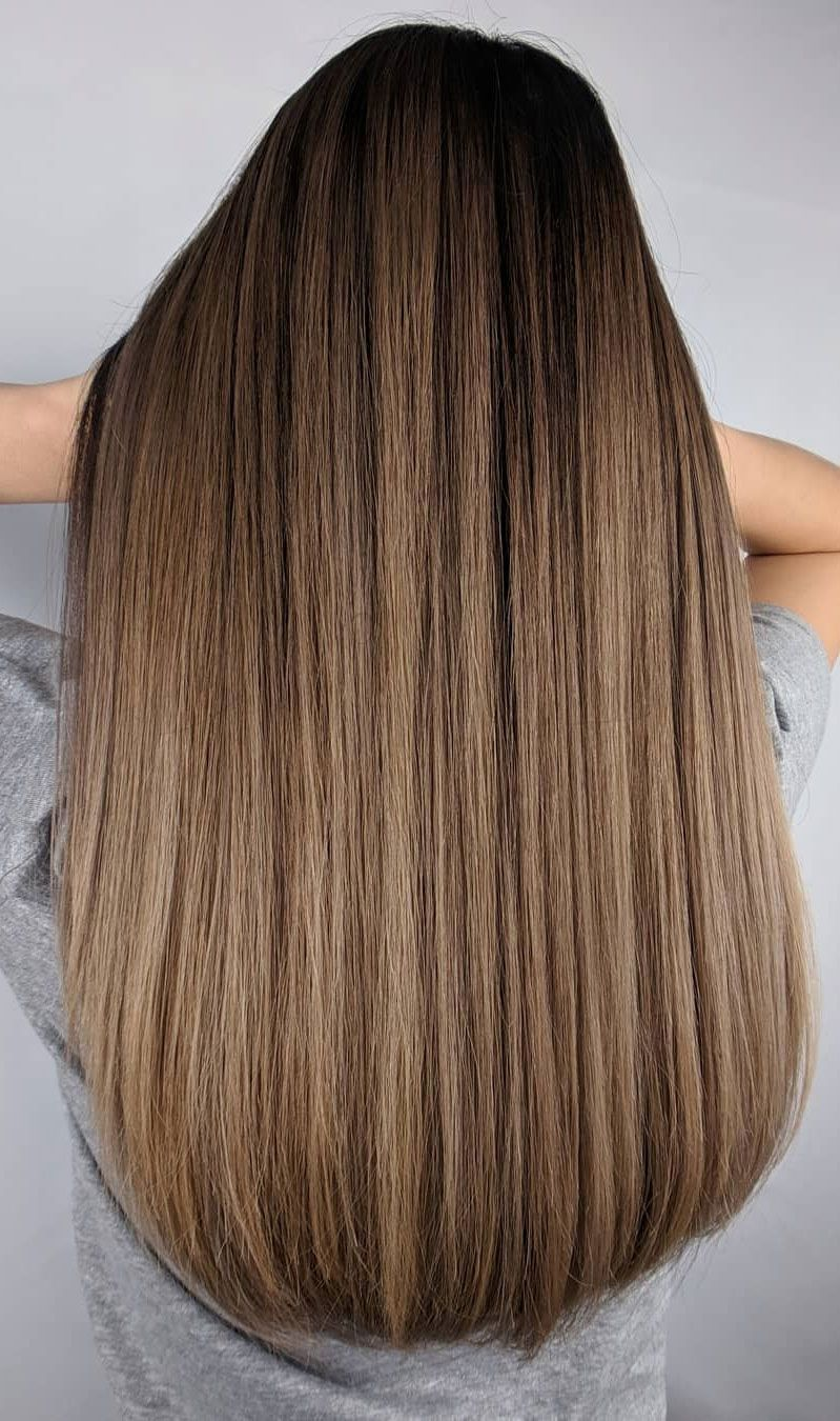30 Gorgeous hairstyles and fabulous hair color, brown hair ,balayage ,chocolate hair color, caramel hair color ,blonde hair color #haircolor #balayage #blondebalayage