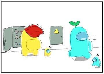 Pin By Gacha Life Memes On Among Us Cartoon Memes Wallpaper Iphone Cute Pokemon Drawings