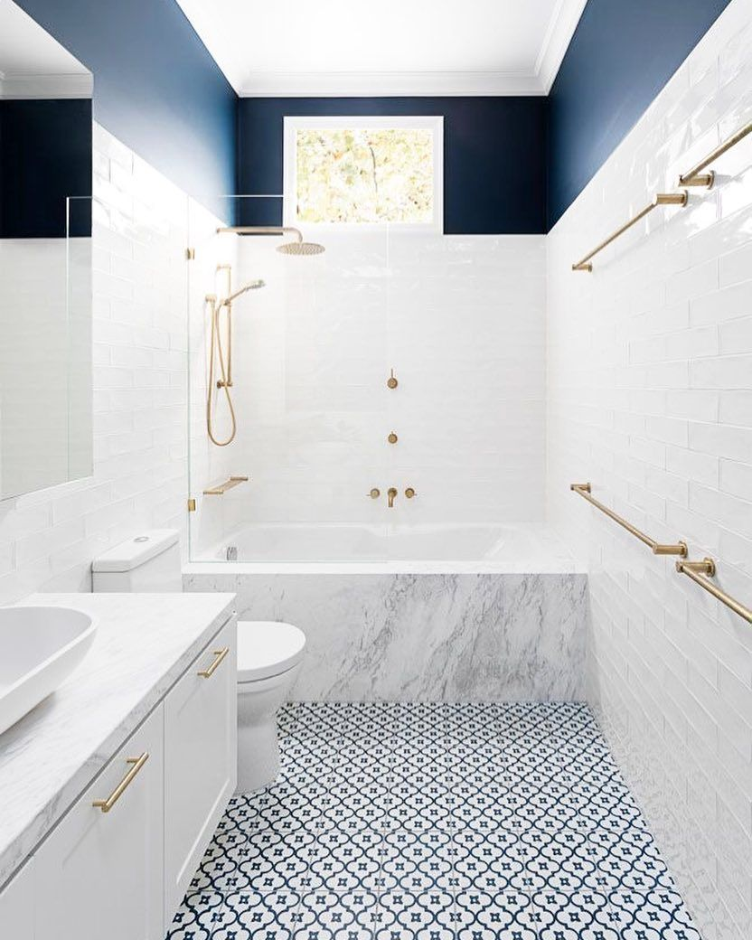 Minimalism Design Style On Instagram Navy Blue And White